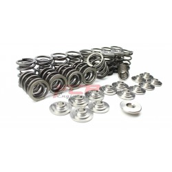VW 2.0 16V ABF racing valve spring kit + titanium retainers