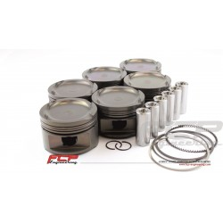 BMW M50B25 M52B25 TURBO FCP Forged pistons 85.00mm CR 8.5:1