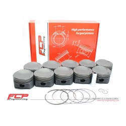 Audi RS6 5.0 V10 Biturbo FCP forged pistons CR 10.5 84.5mm