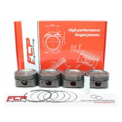 Opel 2.0 Turbo Y20LET Z20LET/LEH/LER FCP forged pistons CR 8.8 87mm