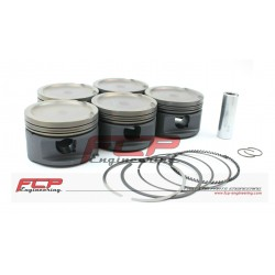 Audi S2 RS2 2.5 20V Turbo Stroker FCP forged pistons 82mm CR 9.5