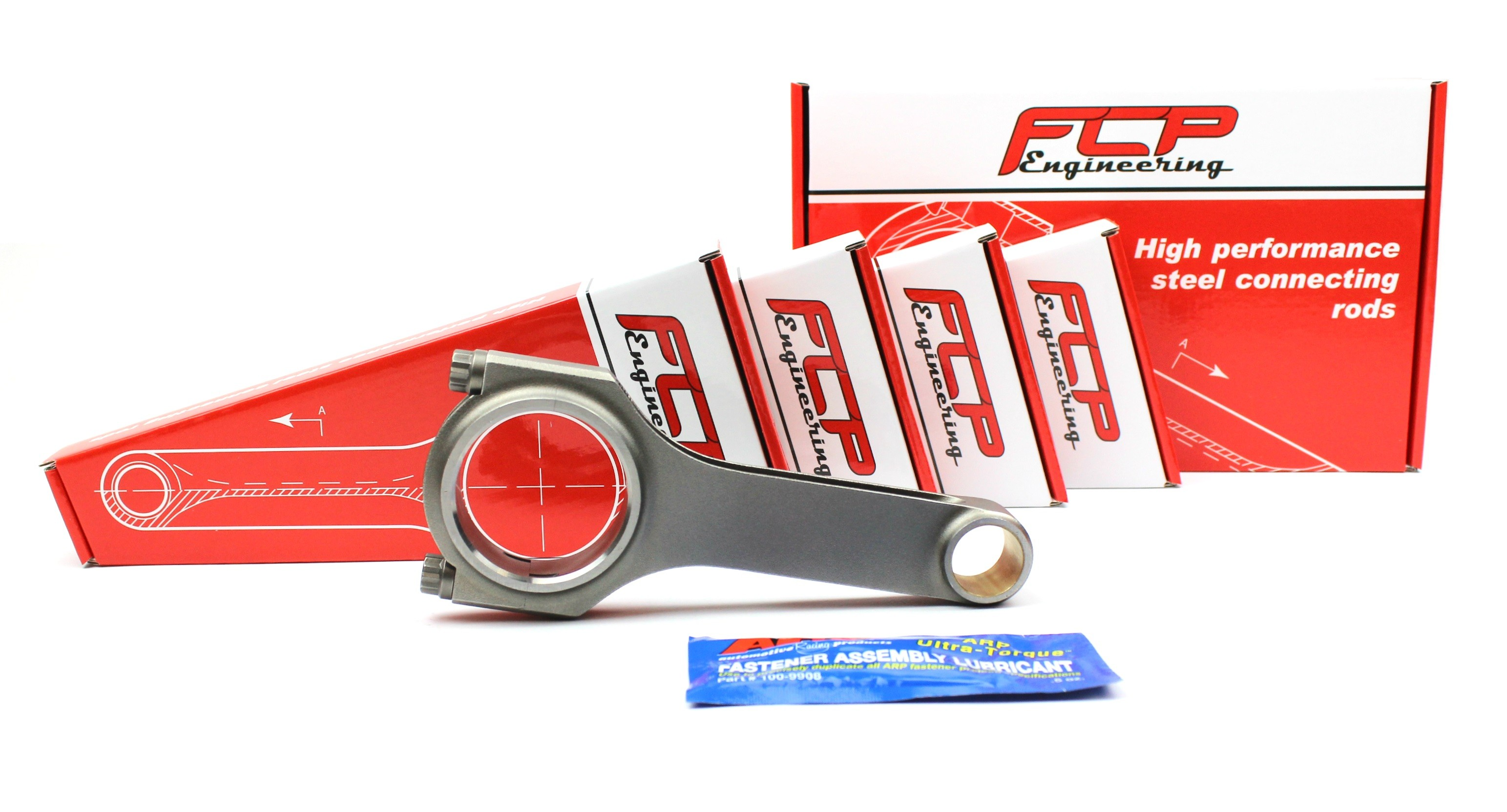 BMW M3 E30 2.3 2.5 S14 FCP H-beam steel connecting rods 144mm