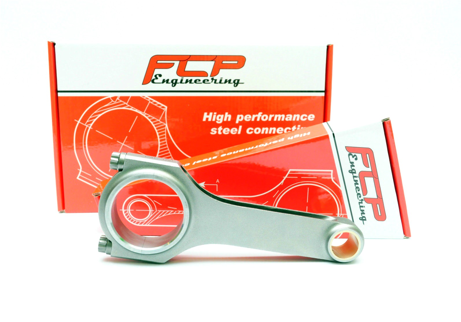 BMW M5 E39 5.0 V8 S62B50 FCP H-beam steel connecting rods 141.5mm