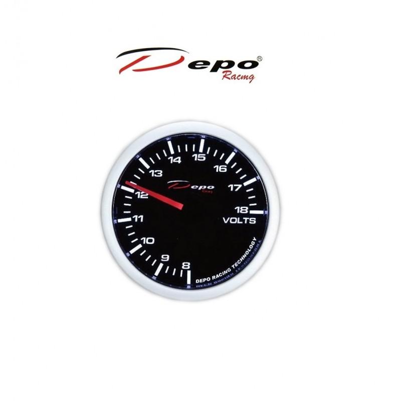 Depo Racing Gauge : Depo racing digital battery voltage gauge mm ws w b