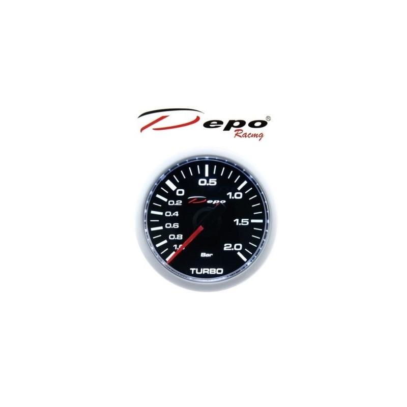 Depo Racing Gauge : Depo racing digital turbo boost gauge bar mm ws w b