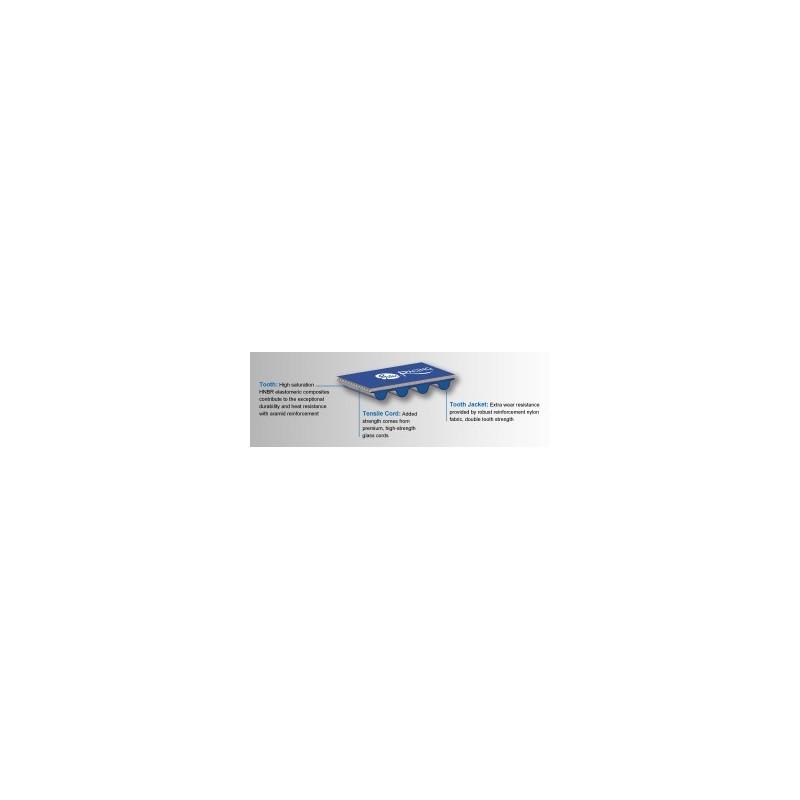 Mitsubishi EVO VIII-IX 4G63 Gates Racing timing + balance belt T167RB