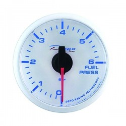 Depo Racing Digital 52mm fuel pressure gauge 0~6 bar transparent lens