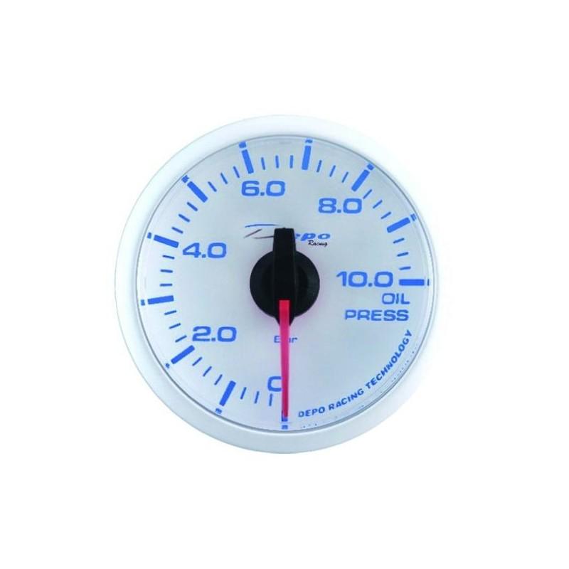 Depo Racing Gauge : Depo racing digital mm oil pressure gauge bar wbl w