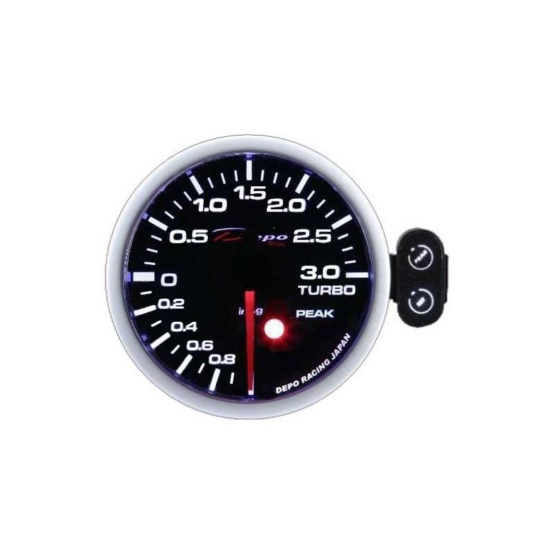 Depo Racing Gauge : Depo racing mm digital boost gauge ~ bar pk wa b