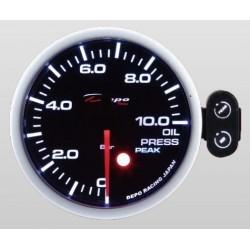 Depo Racing Digital 52mm oil pressure gauge 0~10 bar smoked lens