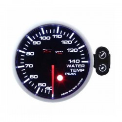 Depo Racing Digital 52mm boost gauge -1~3 bar smoked lens