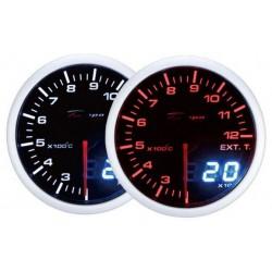 Depo Racing Skaitmeninis + Analoginis išmetimo dujų temperatūros daviklis, užtamsintas stiklas.