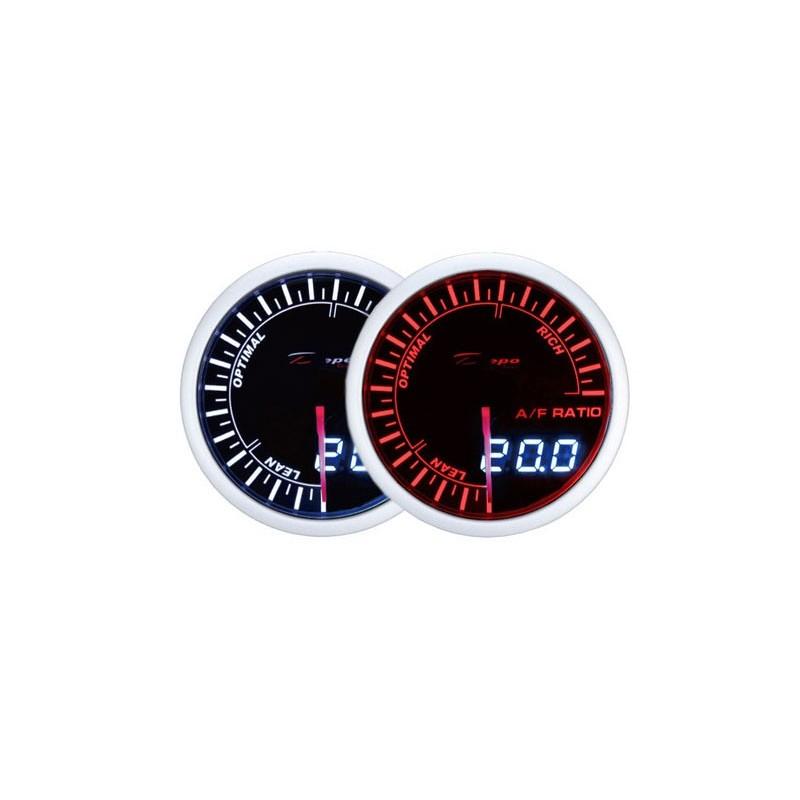 Depo Racing Gauge : Depo racing digital analog narrowband gauge mm wa bled