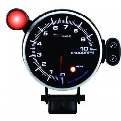 Depo Racing Electronic 95mm tachometer 0-10000rpm
